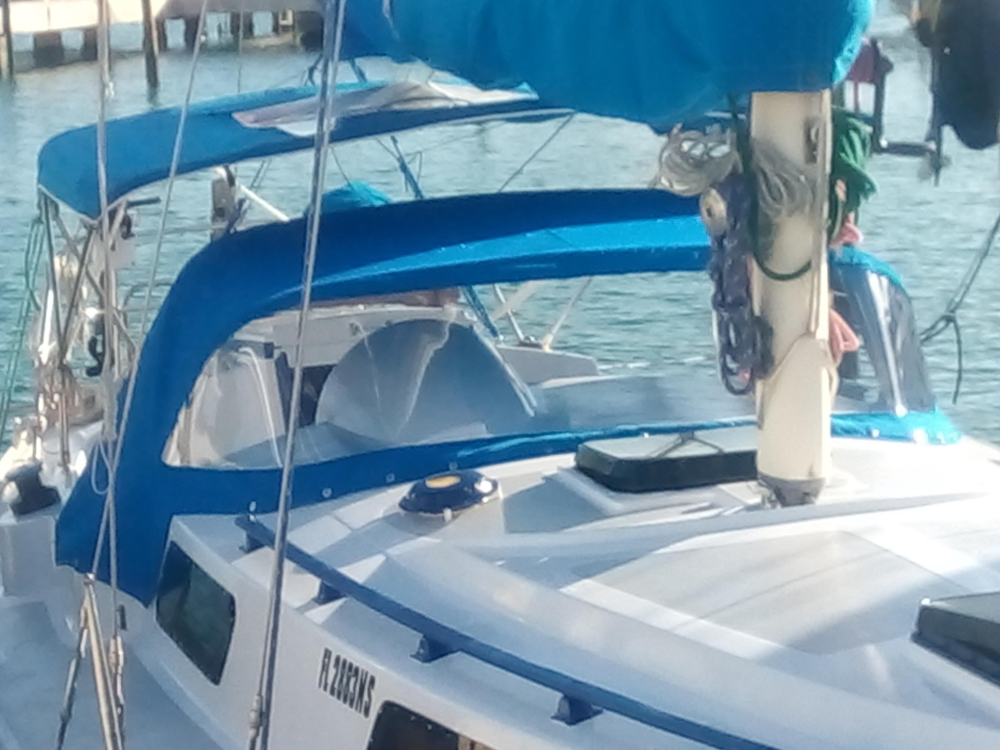 Trident Marine Warrior III 35 foot Sailboat - Fort Pierce