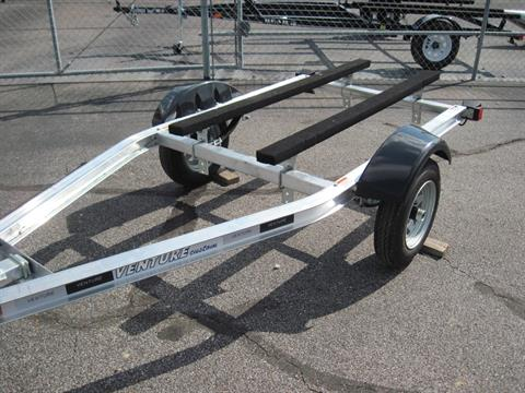 Single Axle Venture Aluminum Boat Trailer For Sale Live