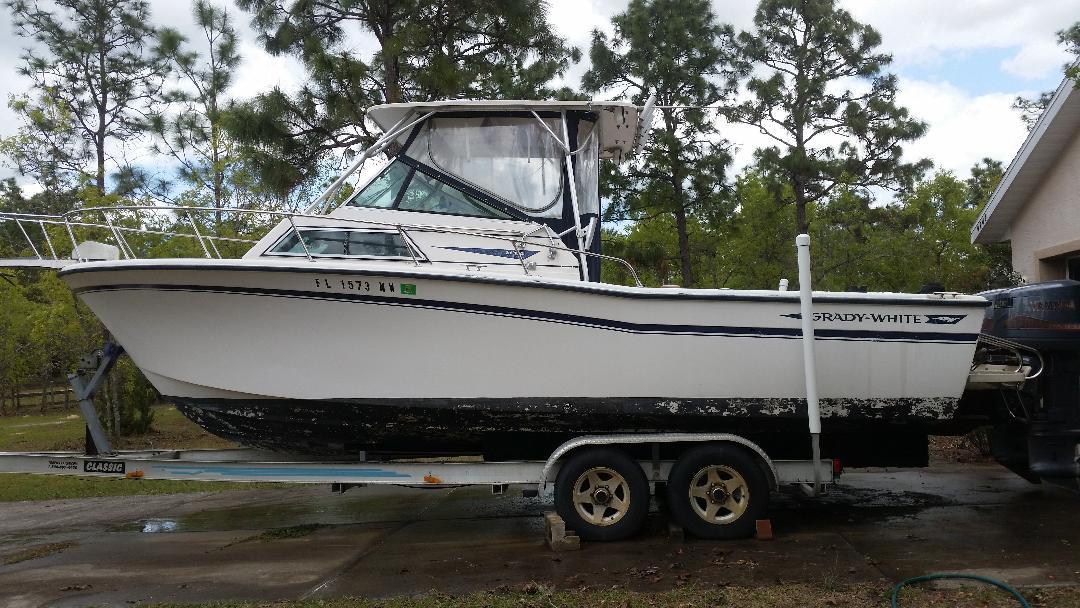 Grady White sailfish 25 - Dunnellon - Florida Boats - Show Ad